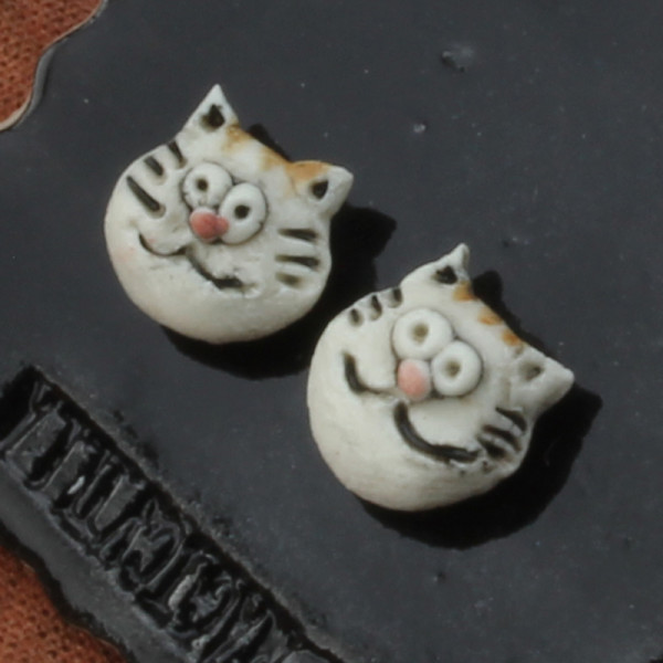 Earrings ~ Cat