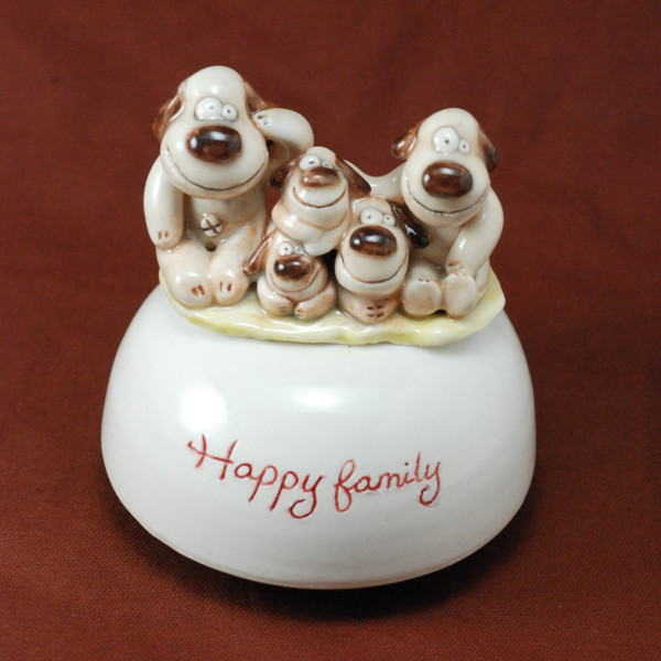 Music Box ~ Happy Family ~ Dogs