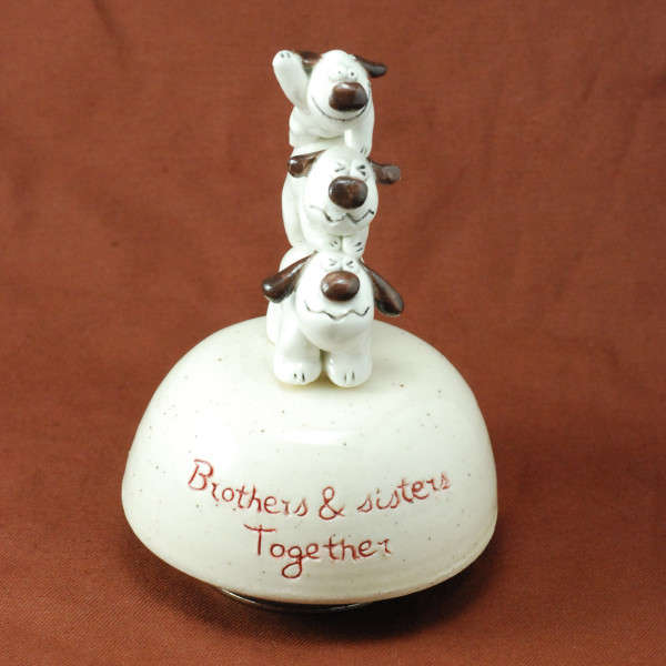 Music Box ~ Brother & Sisters Together ~ Dogs