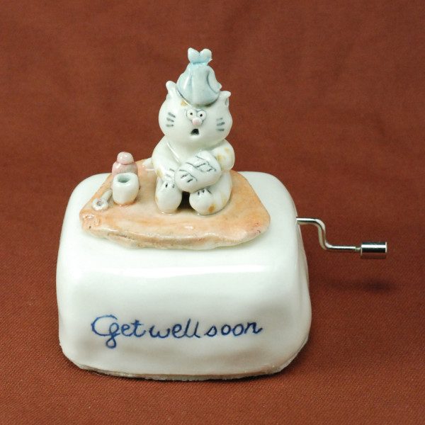 Music Box ~ Get well soon ~ Cat