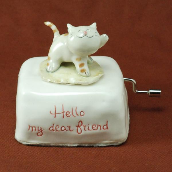 Music Box ~ Hello my dear friend ~ Cat