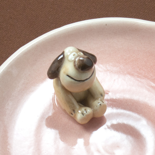 Small Plate ~ Pink ~ Dog
